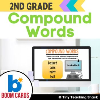 Compound Word Boom Cards Distance Learning