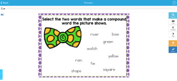 Compound Words Boom Task Cards