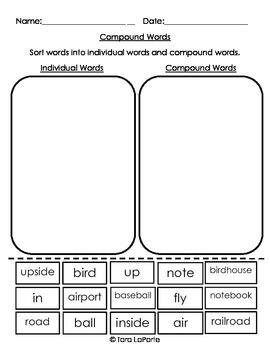 Compound Words Bundle L2.4d