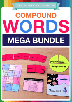 Compound Words Bundle - Literacy Activities and Worksheets