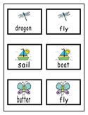 Compound Words -  Cards and Worksheets