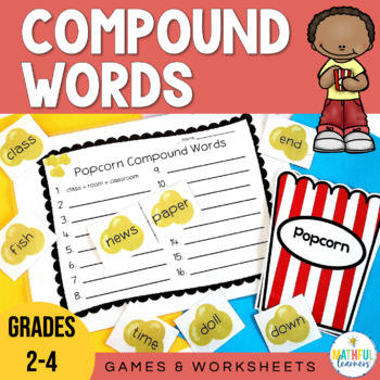 Compound Words Center Activities and Games
