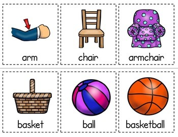 Compound Words - Building Set and Worksheets