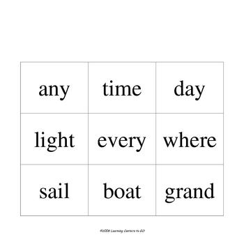 Compound Words Center: Compound Match