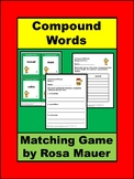 Christmas Compound Words Matching Game