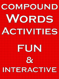 Compound Words Activities Compound Words 2nd grade