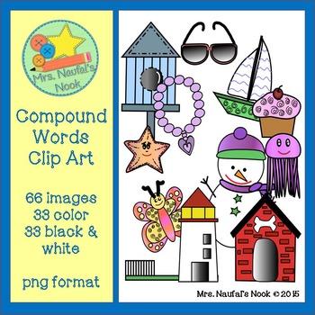 Compound Words Clip Art