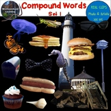 Compound Words Clip Art Set 1 Photo & Artistic Digital Stickers