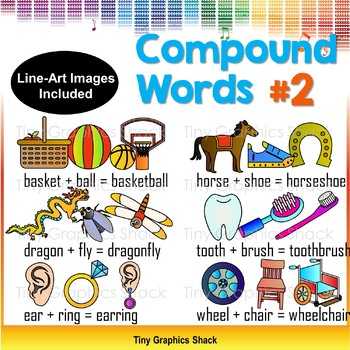 Compound Words Clip Art Set 2