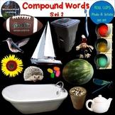 Compound Words Clip Art Set 2 Photo & Artistic Digital Stickers