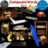 Compound Words Clip Art Set 3 Photo & Artistic Digital Stickers
