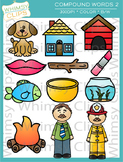 Compound Words Clip Art - Set Two