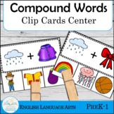Compound Words Clip Cards Center