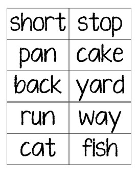 Compound Words - Collaborative Group Set