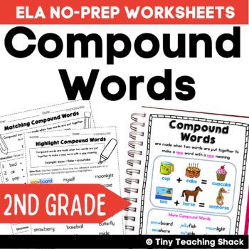 Compound Words Common Core NO PREP Practice Sheets