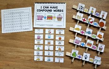 """Compound Words-- """"Compound Words Activities Mini-Bundle"""""""