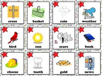 Compound Words: Compound Words Matching Game Sort #1 Pictures - King Virtue