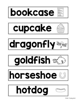 Spring Activities: Compound Words Craft
