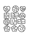 Compound Words Cut Out Match Shapes Printable Reading Kindergarten