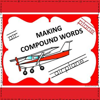 "Read, Write, Spell ""Sort and Match"" (Compound Words Worksheets and Flashcards)"
