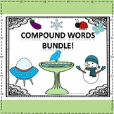 """Read, Write, Spell """"Compound Words Sort and Match"""" (Worksheets and Flash Cards)"""