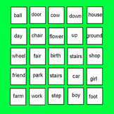 Compound Words - Cut and Paste Handouts