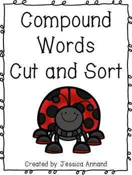 Compound Words Cut and Sort