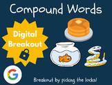 Compound Words - Digital Breakout! (Escape Room, Brain Break, ELA)