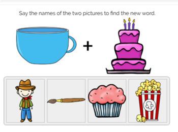 Compound Words Digital Task Cards