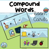 Compound Words, Distance Learning, Boom Cards