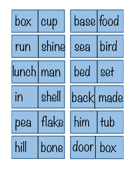 Compound Words Dominoe