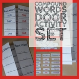 Compound Words Door - Language Lessons and 3 Sorting Card