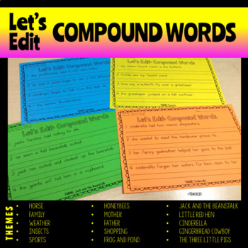 Compound Words Editing and Make Words