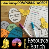 Compound Words Eggs and Chicks Puzzles Center