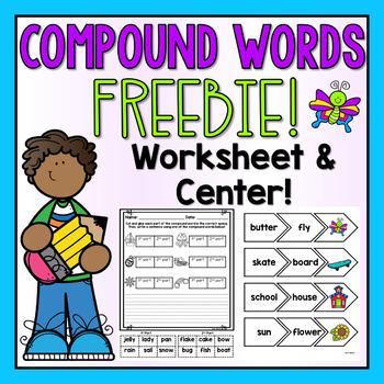 Compound Words FREEBIE!