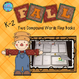 Compound Words Activities Fall Flap Books (DOLLAR DEAL)