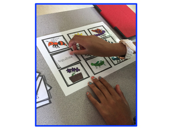 Compound Words File Folder Game