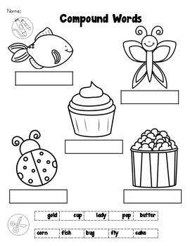 Compound Words - First Grade