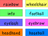 Compound Words Activity Pack