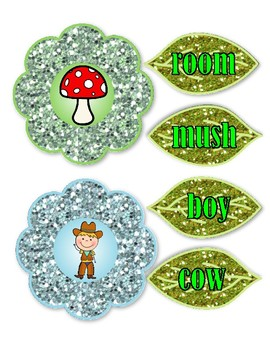 Compound Words - Flowers and Leaves - Set 2