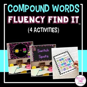Compound Words Fluency Find It