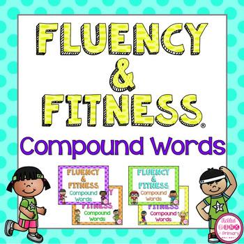 Compound Words Fluency & Fitness Brain Breaks Bundle