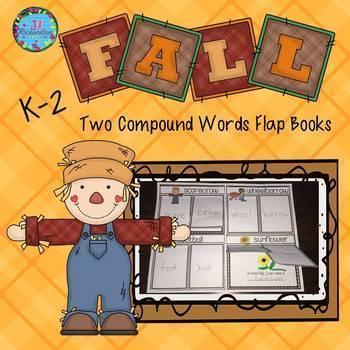 Compound Words Activities Flap Books!  (Bundle)