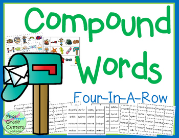 Compound Words Four In A Row