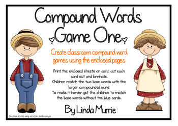 Compound Words - Game One