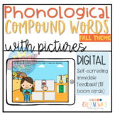 Compound Words Game: Using Pictures -Boom Card Deck