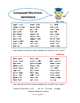 Compound Words |TASK CARD Games  Assessment | I Have... Who Has? | Gr 2-4 Core