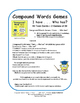 Compound Words |TASK CARD Games  Assessment | I Have... Wh
