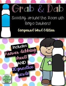 Grab and Dab Scoot for Compound Words