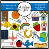 Compound Words Clipart {A Hughes Design}